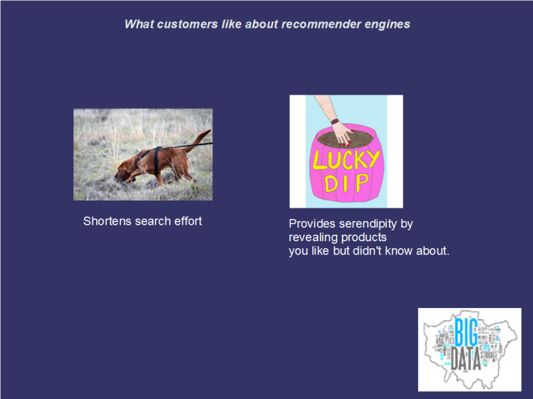 Recommender customer benefits